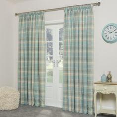 Vintage Check Curtains 90 x 90 £59.99 The Range