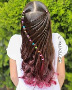 All of these hair-styles represent fairly simple as well as are a great option for beginners, fast and easy toddler hair-styles. Baby Girl Hairstyles, Cute Hairstyles, Toddler Hairstyles, Pixie Hairstyles, Half Braided Hairstyles, Natural Hair Styles, Short Hair Styles, Girl Hair Dos, Braids For Long Hair