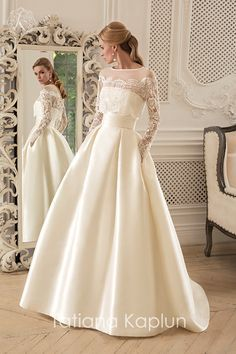 Wedding gown lace vintage bridal collection 51 Ideas for 2019 Wedding Dress Sleeves, Long Sleeve Wedding, Dream Wedding Dresses, Wedding Gowns, Lace Dress, Lace Sleeves, Dress Long, Wedding Ceremony, Satin Bridesmaid Dresses