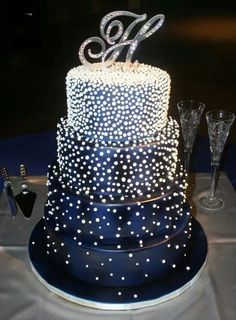 Cake with bling!