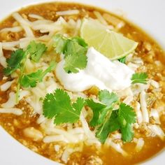 White Turkey Chili Recipe - ZipList