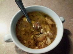My Homemade Chicken Noodle Soup-Always good for the soul.