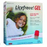 Licefreee non-toxic lice killing hair gel with steel comb