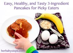 Easy, Healthy, and Tasty 3-Ingredient Pancakes Recipe
