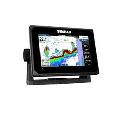 """Simrad GO7, XSE TotalScan 7"""" Multi-touch chart plotter with built in Echosounder, GPS and NMEA 2000 interface. Insight Charts"""