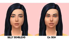 """imvikai: """" BILLY SKINBLEND BY VIKAI So alot of people ask what skin I use all of the time, and since I use alot of things combined, I decided to make a singular skinblend, with all of the things I. Los Sims 4 Mods, Sims 4 Game Mods, Sims Games, Sims 4 Cc Eyes, Sims 4 Mm Cc, Sims Four, The Sims 4 Skin, Sims 4 Cc Makeup, Mod Makeup"""