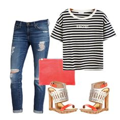 Keeping it casual and chic!