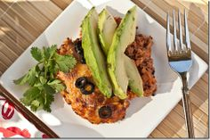 Garden Enchilada Bake - I made this last night - super easy and delicious!