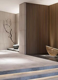 entry bookcase from l/r Lobby Interior, Interior Walls, Luxury Interior, Modern Interior, Home Interior Design, Interior Architecture, Interior And Exterior, Interior Decorating, Japanese Interior