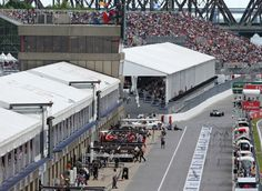 Overlooking the Paddock for the 2014 Formula 1 Grand Prix du Canada