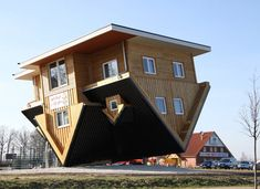 This upside-down building known as 'Crazy House' was built in ...