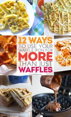 12 AMAZING ways to use your waffle iron for more than just waffles!