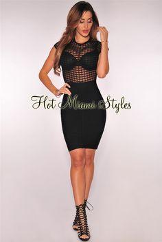 Double v black dress kim