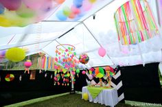 neon party ideas | share