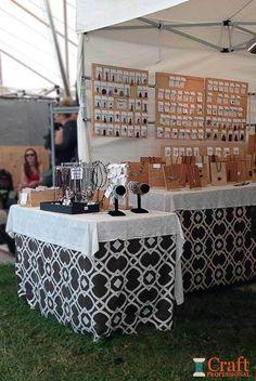 Handmade jewelry display