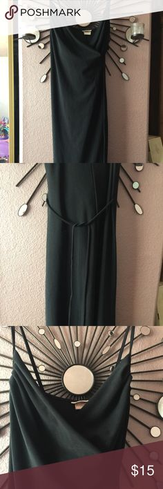 Sexy LBD Loved LBD Charlotte Russe brand. Size small. Has one small snag as indicated in pic. Hugs curves in the right places, but not too tight. Straps are not adjustable, ties in back. Midi Length. Flexible on price , save with bundle purchases 🌸🌻🌷 Dresses Midi