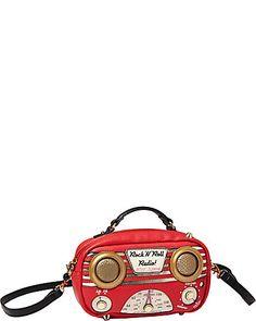 Betsey Johnson...RADIO CROSSBODY