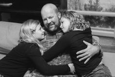 A father dying from terminal brain cancer got the chance to have a father-daughter dance with each of his young girls. Father Daughter Dance, Lets Celebrate, Fathers, Affair, Cancer, Dads, Babies, Shit Happens, Watch