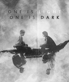 Light & Dark- LOST fan art