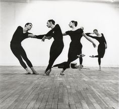 John Cage, Merce Cunningham and Robert Rauschenberg Sadler Wells, 1964, Production orchestrated by the above mentioned.