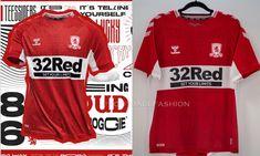 Middlesbrough FC 2021/22 hummel Home Kit
