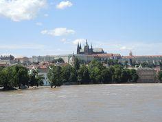 Praha po záplavách jún 2013