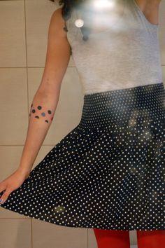 #polka_dots #tattoo  . . . . . . . .