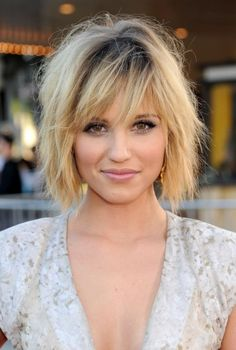 Layered Bob Hairstyles With Bangs