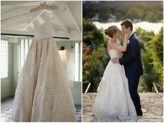 Wedding Dress Of The Week: Dahlia by Amsale | Bridal Musings