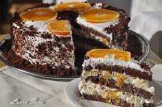 Tort cu crema diplomat | Retete culinare cu Laura Sava