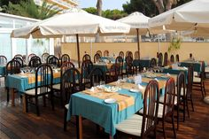 PIzzeria Al Dente at the Hotel Marina Torrenova 4*, Palma Nova, Mallorca.