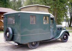 1937 ford housecar camper.