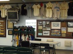 North Carolina Baseball Museum at Fleming Stadium in Wilson, North Carolina... www.ncbaseballmuseum.com