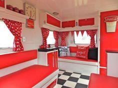 Love the Red w/ Retro floor!