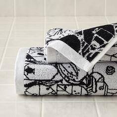 Charley Harper Animal Bath Towels   The Land of Nod