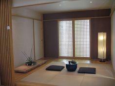 和モダン Modern Japanese Interior, Japanese Modern House, Japanese Living Rooms, Modern Japanese Architecture, Japanese Bedroom, Traditional Japanese House, Japanese Furniture, Asian Interior, Japanese Home Decor