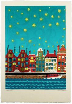Amsterdam Silkscreen