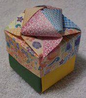 Origami boxes by RazorCrow