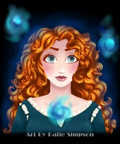Merida by *Redhead-K on deviantART