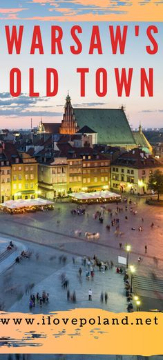 The Old Town of Warsaw in Poland was completely rebult after the Second World War. Today it stands as a fitting reminder that the Polish spirit can not be conquered. Warsaw Old Town, Warsaw Poland, Weekend Breaks, World War Two, Travel Guide, Two By Two, Old Things, Spirit, Europe