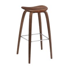 Gubi 2D Wood Stool - 2Modern