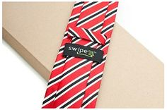 It's a tie that's also a gadget cleaner. #Geek alert.