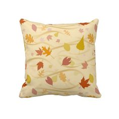 Autumn Wind Background Pillows $75.95 per pillow
