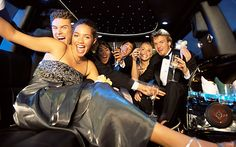 There is the growing trend of renting a limousine as the transportation of choice to the high school prom or graduation. Party Bus Rental, Car Rental, Limousine Car, Chartered Bus, Places To Rent, Transportation Services, Teen Life, Prom Night, Traveling By Yourself