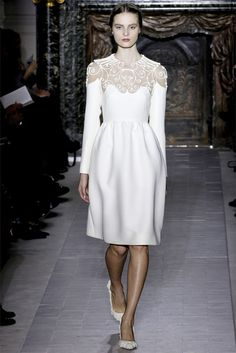This Valentino is perfect for a City Hall Wedding!