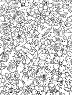 adult coloring page - Hard Coloring