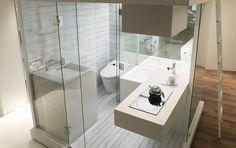 subaco ユニットバス・システムバス 「スピリチュアルモード」/ small bathroom/kitchen module