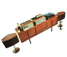 Pioneer SX-1080 + Bose 901 HiFi stereo set from the seventies by unknown designer for Pioneer
