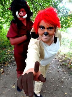 how to make a timon costume - Google Search