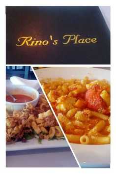 """Rino's was featured on an episode of Food Networks """"Diners, Drive-Ins and Dives"""" for its fantastic lobster ravioli. The restaurant is very small and always has a wait, so leave early! Spend your time catching up at the bar across the street."""